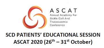 Sickle Cell Disease patients and parents' patients Educational Session at ASCAT 2020, a joint project of ERN-EuroBloodNet, ASCAT and BSH