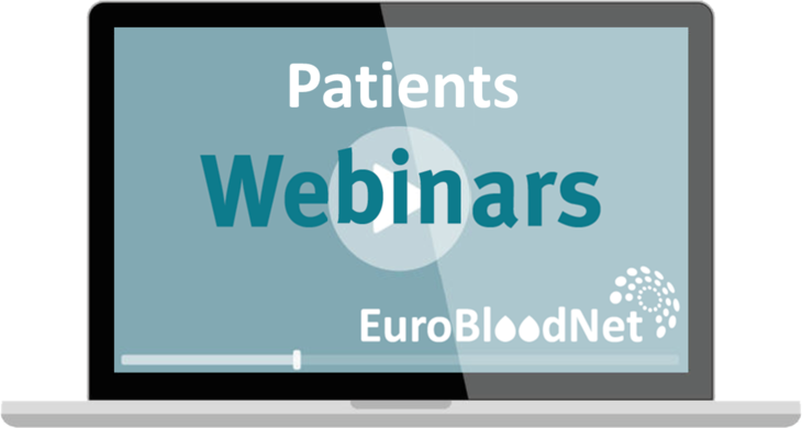 New comprehensive webinar programs targeting patients or patients' organizations are coming