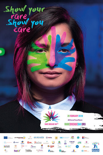 Rare Disease Day 2018 is approaching! Show your rare. Show you care.