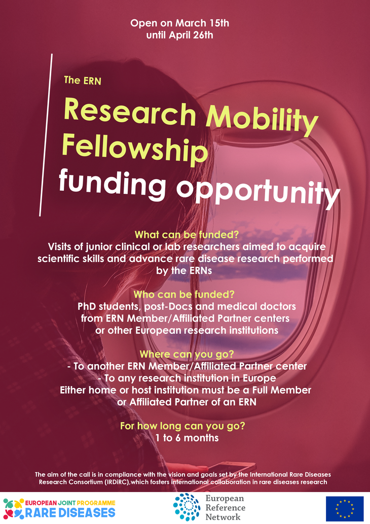 EJP RD call for Research Mobility Fellowships will open on 15th of March!