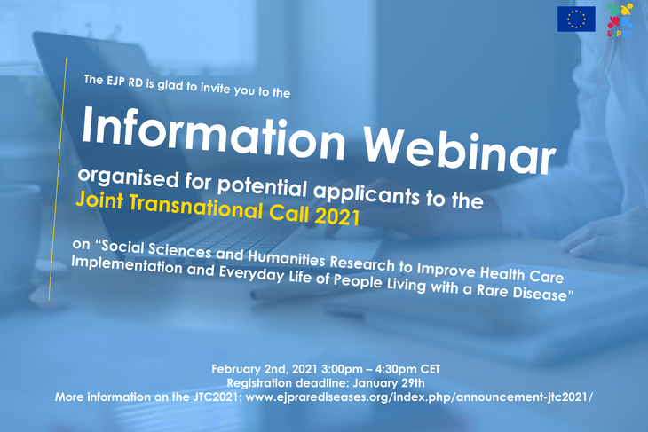 Attend the EJP RD Information Webinar for the JTC2021