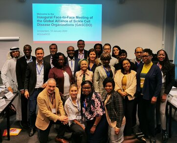 Inaugural meeting of the Global Alliance of Sickle Cell Disease Organizations (GASCDO)
