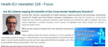 Cross-border healthcare: are EU citizens aware?