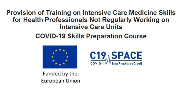 The European Commission together with the European Society of Intensive Care Medicine are supporting the EU healthcare systems and clinicians dealing with the COVID-19 pandemic on the front line