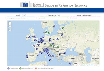 New search tool for ERNs on the Europa website!