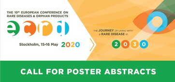 European Conference on Rare Diseases & Orphan Products (ECRD) will take place 15-16 May in Stockholm, shape the future for people living with a rare disease!